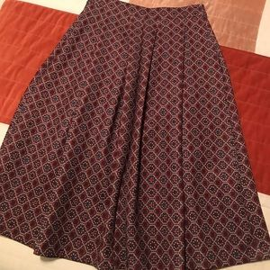 Abercrombie and Fitch Tea Skirt